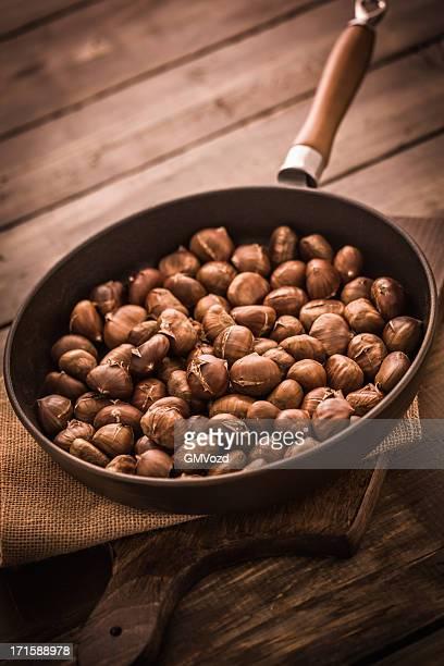 Des marrons grillés