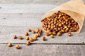 roasted chick peas snack