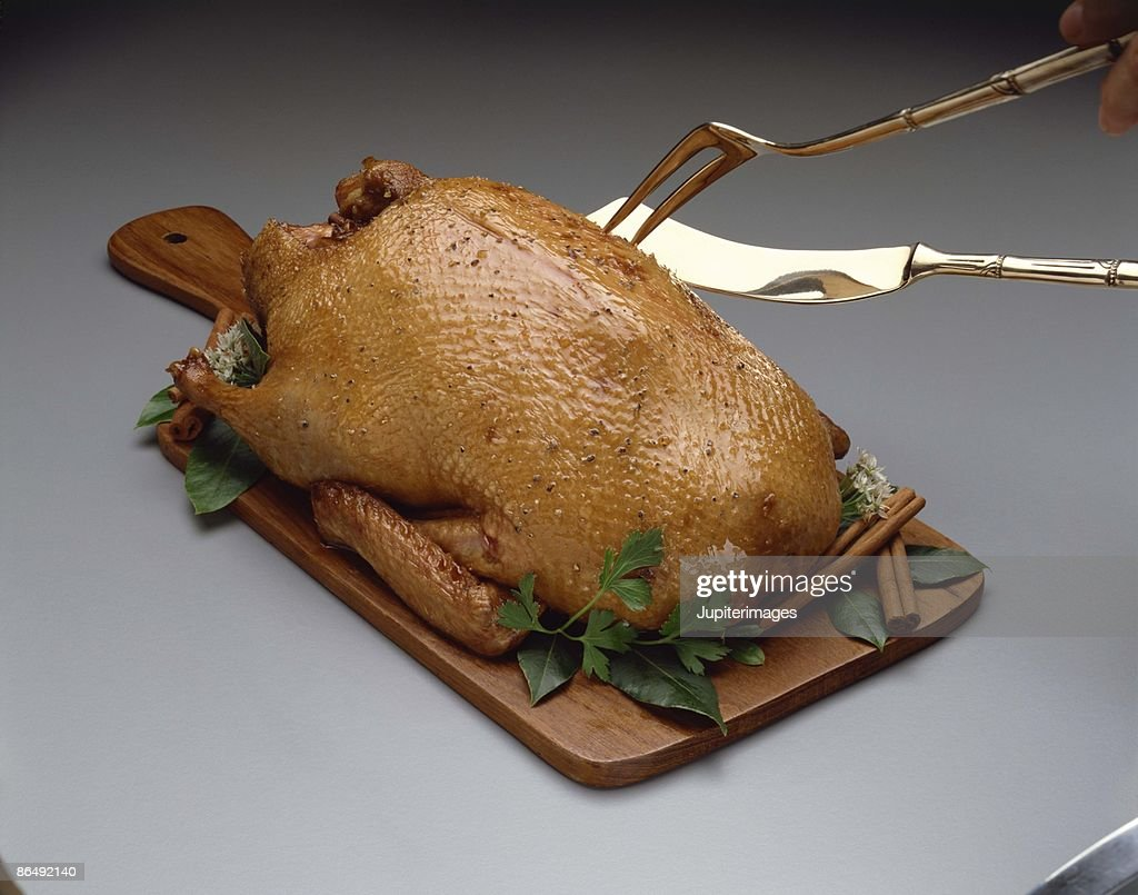 Roasted duck : Stock Photo