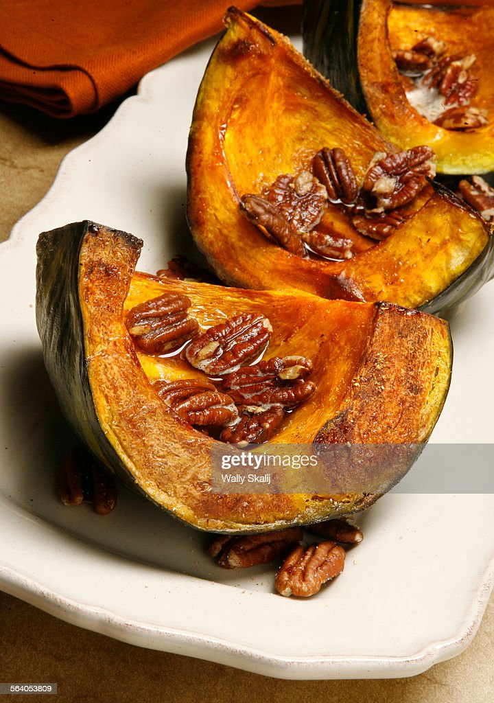 Roasted kabocha aquash with browned butter