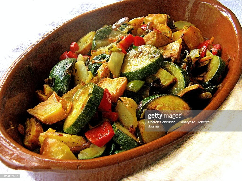 Roasted vegetables : Stock Photo