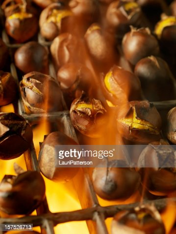 how to cook chestnuts on bbq
