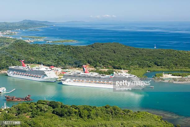 Roatan's Mahogany Bay cruise ship port