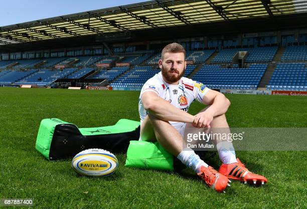 Rob Baxter Head Coach of Exeter Chiefs poses during the media day ahead of the Aviva Premiership Final against Wasps at Sandy Park on May 24 2017 in...