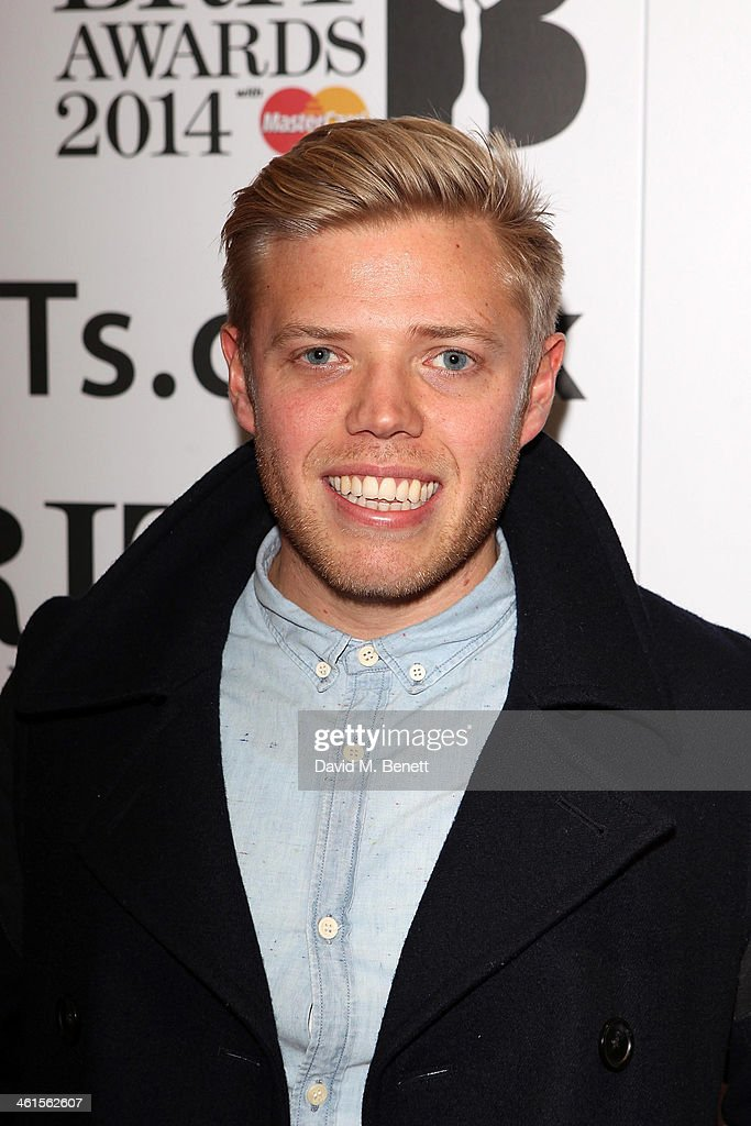 Rob Beckett attends the BRIT Awards nominations on January 9, 2014 in London, England.