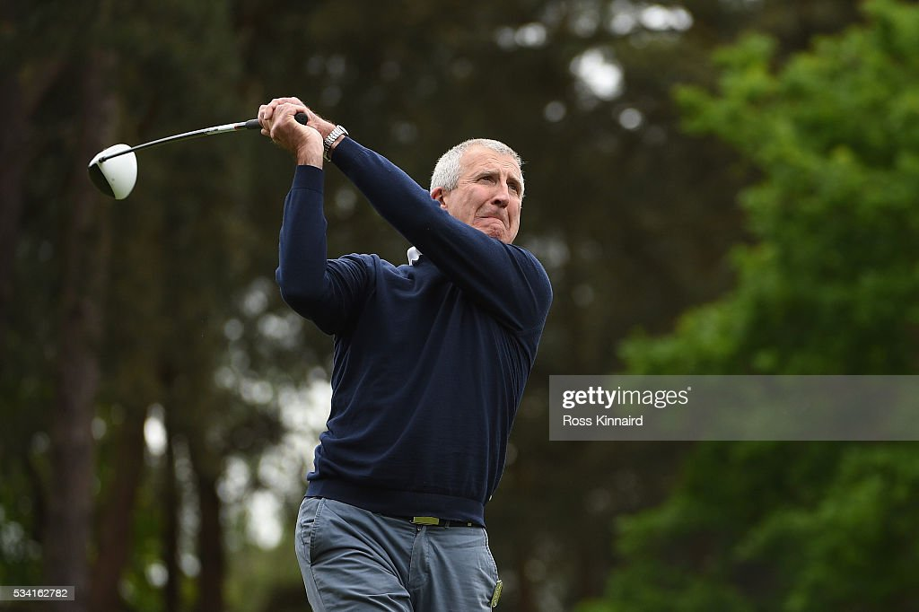 Rob Bonnet in action during the Pro-Am prior to the BMW PGA Championship at Wentworth on May 25, 2016 in Virginia Water, England.