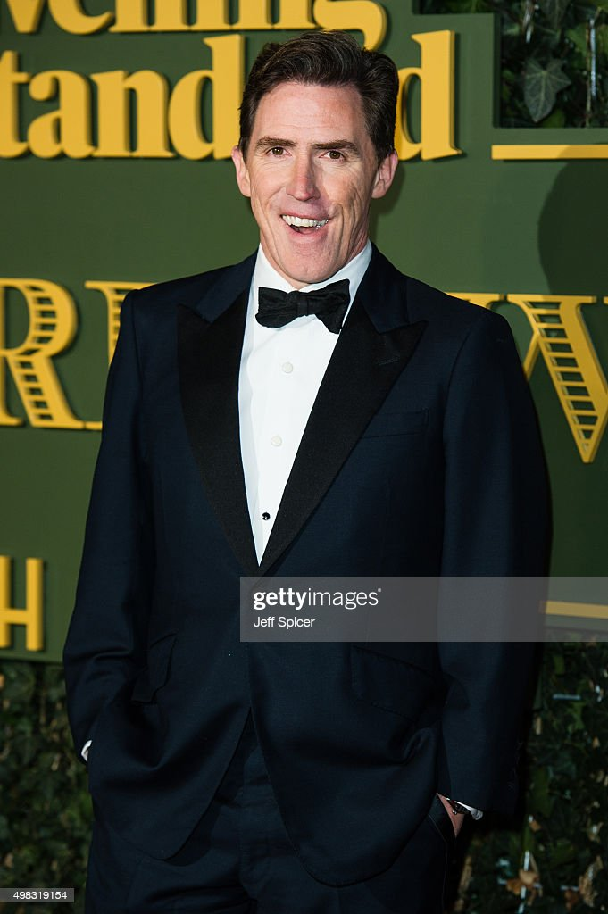 Rob Brydon attends the Evening Standard Theatre Awards at The Old Vic Theatre on November 22, 2015 in London, England.