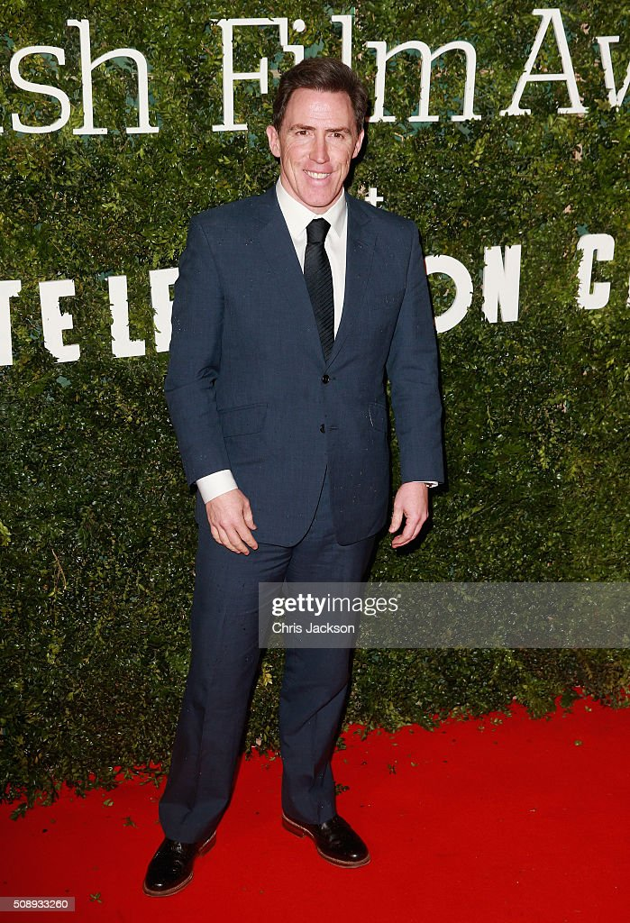 <a gi-track='captionPersonalityLinkClicked' href=/galleries/search?phrase=Rob+Brydon&family=editorial&specificpeople=618673 ng-click='$event.stopPropagation()'>Rob Brydon</a> attends the London Evening Standard British Film Awards at Television Centre on February 7, 2016 in London, England.