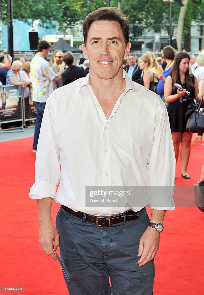 <a gi-track='captionPersonalityLinkClicked' href=/galleries/search?phrase=Rob+Brydon&family=editorial&specificpeople=618673 ng-click='$event.stopPropagation()'>Rob Brydon</a> attends the London Premiere of 'Alan Partidge: Alpha Papa' at Vue Leicester Square on July 24, 2013 in London, England.