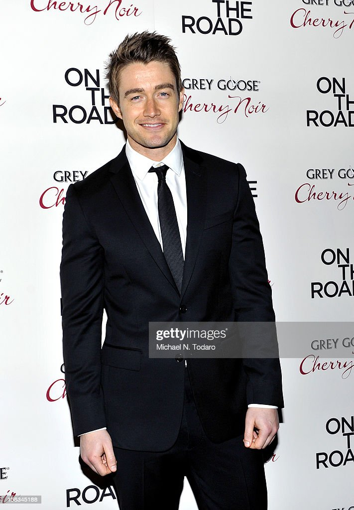 Rob Buckley attends the 'On The Road' premiere at SVA Theater on December 13, 2012 in New York City.