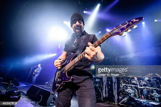 Rob Caggiano of Volbeat performs on stage at Olympiahalle on November 13 2013 in Munich Germany