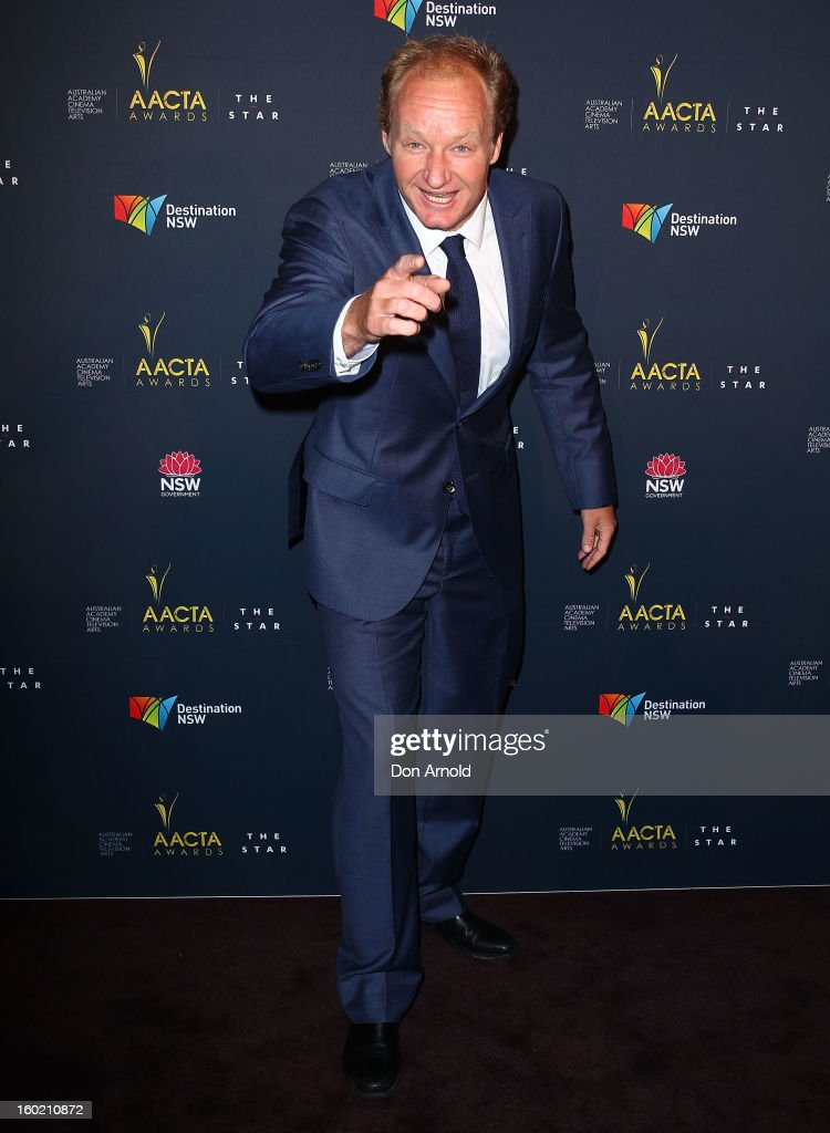Rob Carlton poses during the 2nd Annual AACTA Awards Luncheon at The Star on January 28, 2013 in Sydney, Australia.