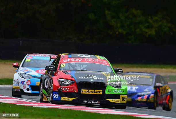 Rob Collard of Ebay Motors during Race 2 of the Dunlop MSA British Touring Car Championship at Brands Hatch on October 12 2014 in Longfield England