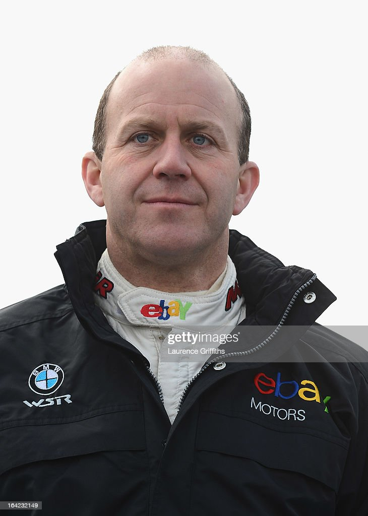 Rob Collard of Ebay Motors poses for a portrait during the BTCC Media Day at Donington Park on March 21, 2013 in Castle Donington, England.