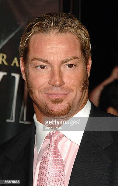 Rob Conway WWE Raw Superstar during 'See No Evil' Premiere Arrivals in Los Angeles California United States