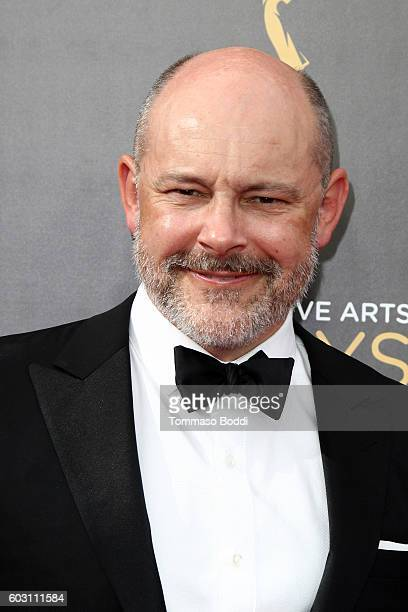 Rob Corddry attends the 2016 Creative Arts Emmy Awards held at Microsoft Theater on September 11 2016 in Los Angeles California