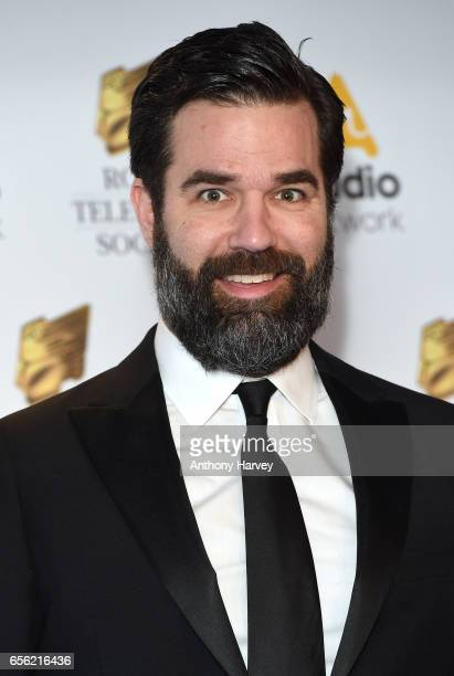 Rob Delaney attends the Royal Television Society Programme Awards on March 21 2017 in London United Kingdom
