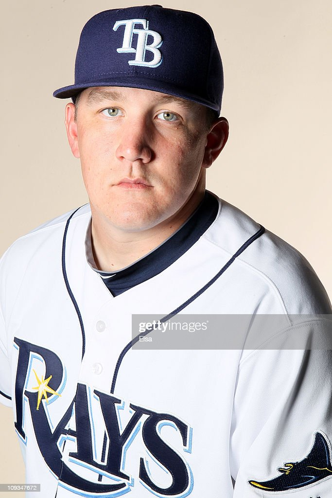 Rob Delany of the Tampa Bay Rays poses for a portrait during the Tampa Bay Rays Photo Day on February 22 2011 at the Charlotte Sports Complex in Port...