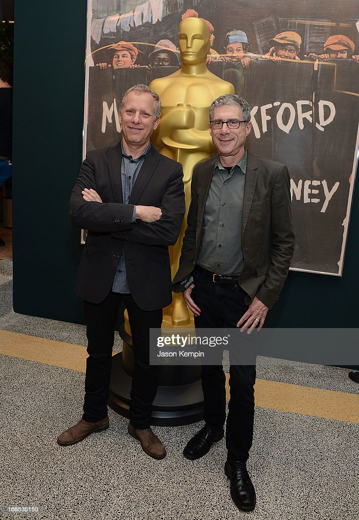 Rob Epstein and Jeffrey Friedman attend The Academy Of Motion Picture Arts And Sciences' Premiere Of 'Portrait Of Jason' at Linwood Dunn Theater at the Pickford Center for Motion Study on May 10, 2013 in Hollywood, California.