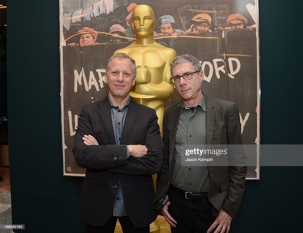 <a gi-track='captionPersonalityLinkClicked' href=/galleries/search?phrase=Rob+Epstein&family=editorial&specificpeople=2669345 ng-click='$event.stopPropagation()'>Rob Epstein</a> and Jeffrey Friedman attend The Academy Of Motion Picture Arts And Sciences' Premiere Of 'Portrait Of Jason' at Linwood Dunn Theater at the Pickford Center for Motion Study on May 10, 2013 in Hollywood, California.
