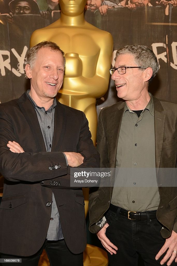 <a gi-track='captionPersonalityLinkClicked' href=/galleries/search?phrase=Rob+Epstein&family=editorial&specificpeople=2669345 ng-click='$event.stopPropagation()'>Rob Epstein</a> and Jeffrey Friedman attend the AMPAS Hosts 'Portrait of Jason' Screening at Linwood Dunn Theater at the Pickford Center for Motion Study on May 10, 2013 in Hollywood, California.