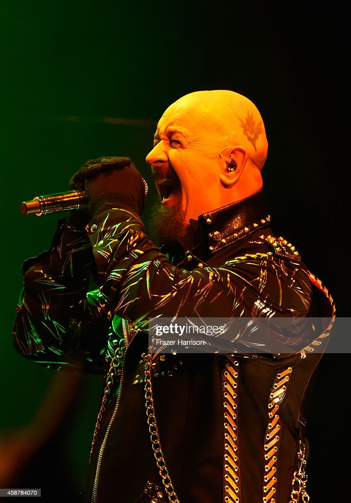 Judas Priest Performs At The Nokia Theatre L.A. Live