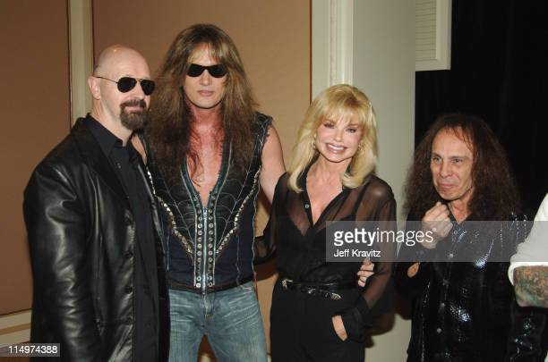 Rob Halford Sebastian Bach Loni Anderson and Ronnie James Dio