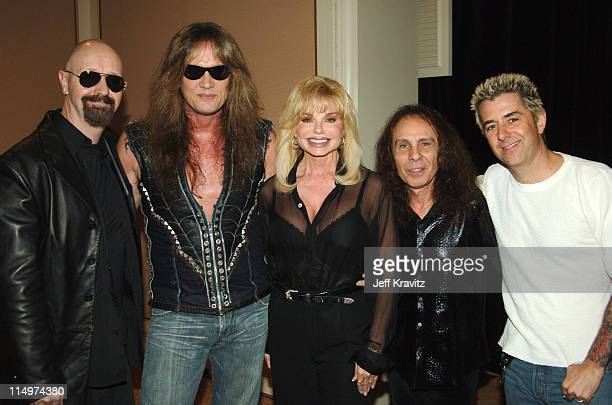 Rob Halford Sebastian Bach Loni Anderson Ronnie James Dio and Riki Rachtman