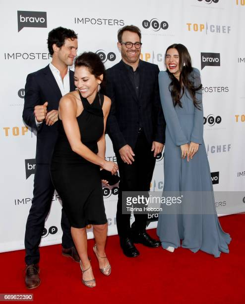 Rob Heaps Inbar Lavi Paul Adelstein and Marianne Rendon attend the 'Imposters' for your consideration event hosted by Bravo at Saban Media Center on...