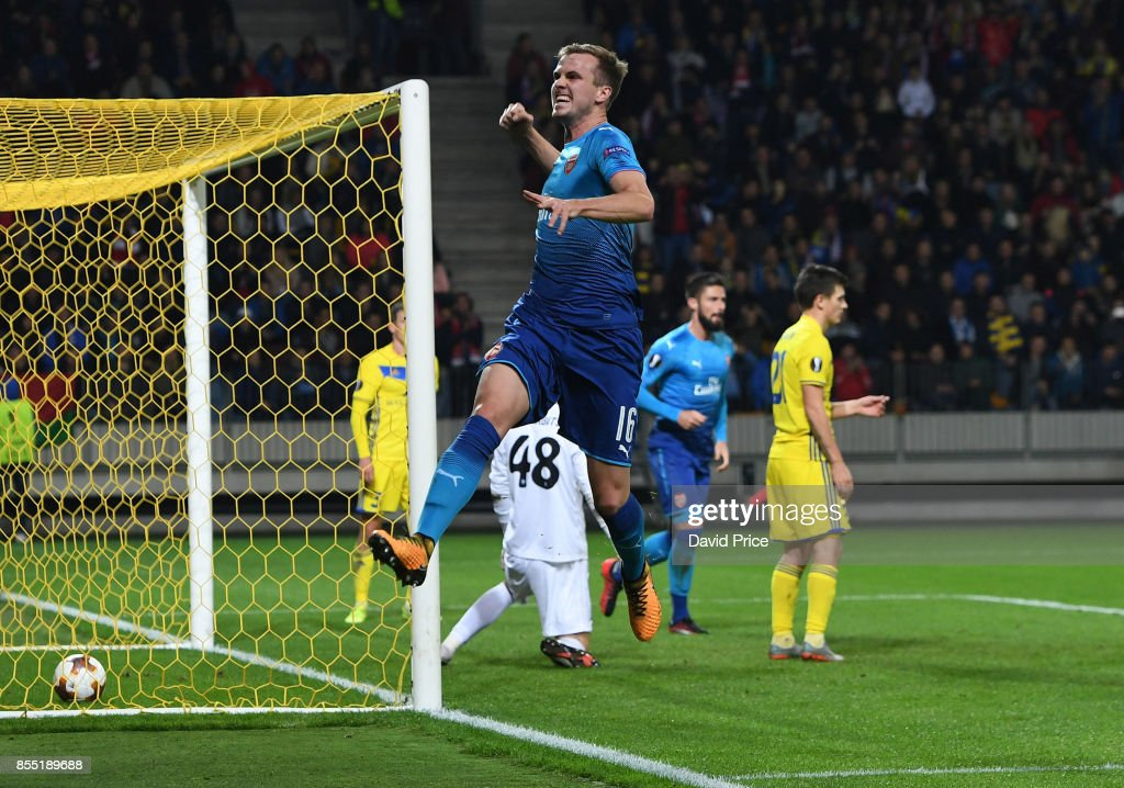 BATE Borisov v Arsenal FC - UEFA Europa League