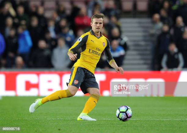 Rob Holding of Arsenal during the Premier League match between Middlesbrough and Arsenal at Riverside Stadium on April 17 2017 in Middlesbrough...