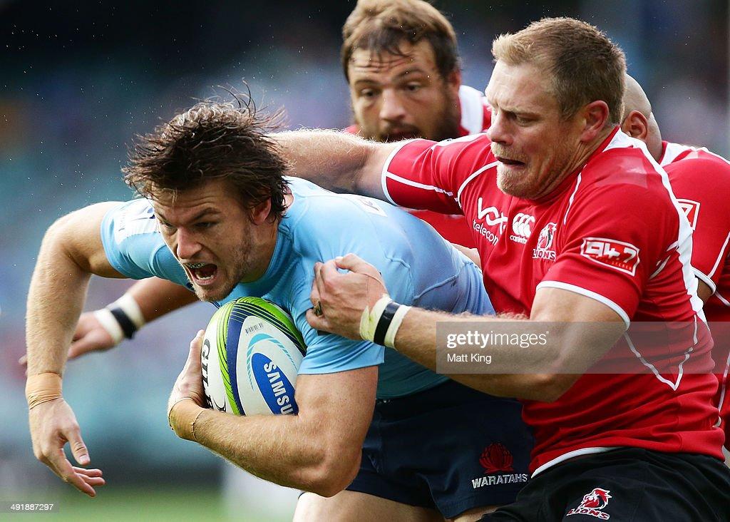 Super Rugby Rd 14 - Waratahs v Lions