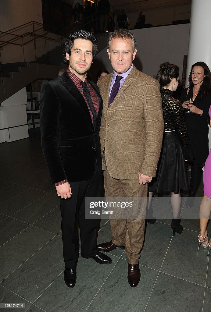 <a gi-track='captionPersonalityLinkClicked' href=/galleries/search?phrase=Rob+James-Collier&family=editorial&specificpeople=7201395 ng-click='$event.stopPropagation()'>Rob James-Collier</a> and <a gi-track='captionPersonalityLinkClicked' href=/galleries/search?phrase=Hugh+Bonneville&family=editorial&specificpeople=228840 ng-click='$event.stopPropagation()'>Hugh Bonneville</a> attend an evening with the cast and producers of PBS Masterpiece series 'Downton Abbey' hosted by Ralph Lauren & Graydon Carter on December 10, 2012 in New York City.