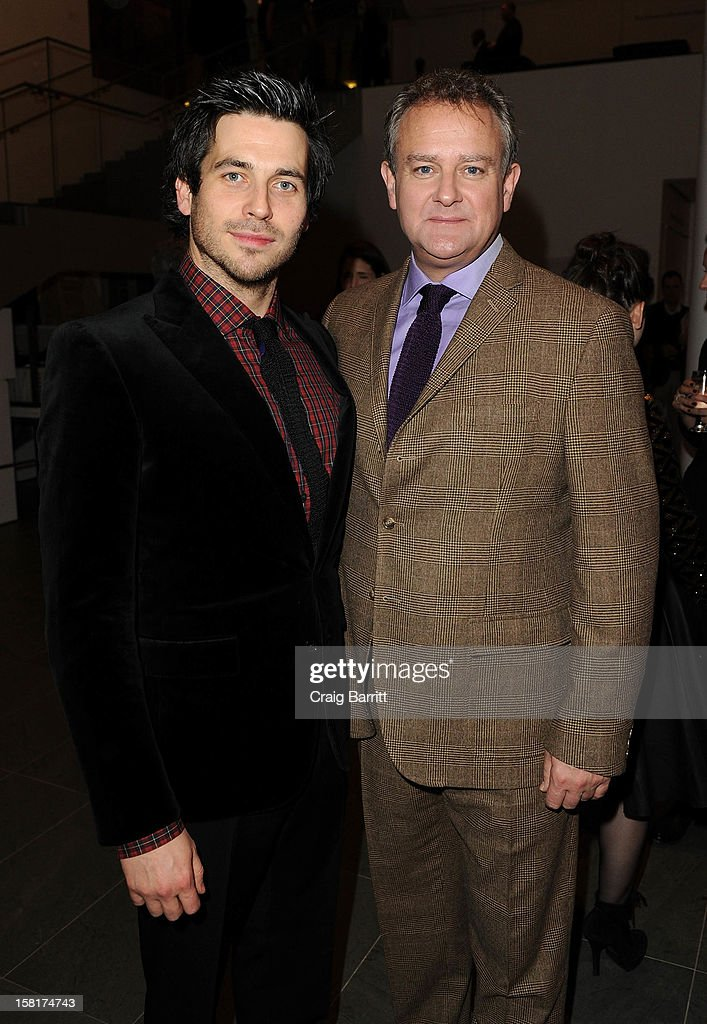 Rob James-Collier, and Hugh Bonneville attend an evening with the cast and producers of PBS Masterpiece series 'Downton Abbey' hosted by Ralph Lauren & Graydon Carter on December 10, 2012 in New York City.