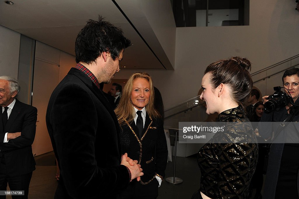 Rob James-Collier, Sophie McShera and guest attend an evening with the cast and producers of PBS Masterpiece series 'Downton Abbey' hosted by Ralph Lauren & Graydon Carter on December 10, 2012 in New York City.
