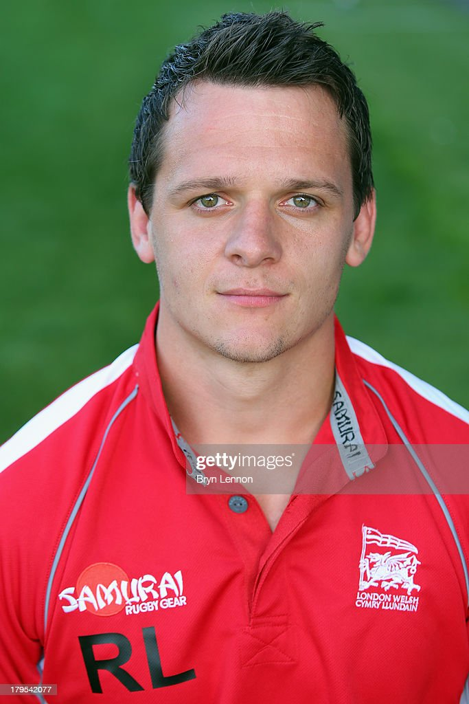 Rob Lewis of London Welsh poses for a portrait during a London Welsh Media Day at Kassam Stadium on September 4, 2013 in Oxford, England.