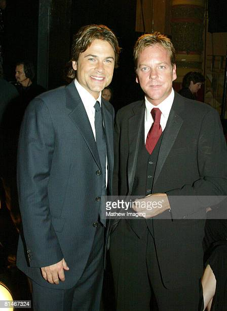 Rob Lowe and Kiefer Sutherland