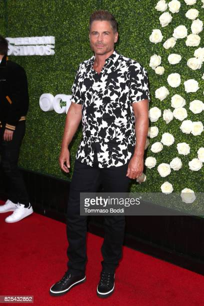 Rob Lowe attends the 2017 Summer TCA Tour CBS Television Studios' Summer Soiree at CBS Studios Radford on August 1 2017 in Studio City California
