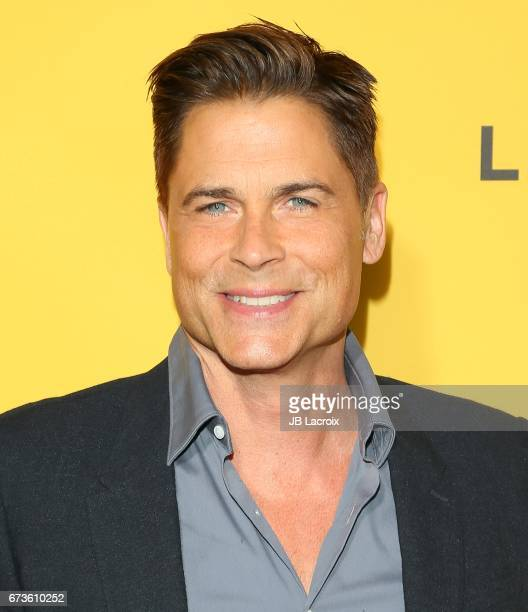 Rob Lowe attends the premiere of Pantelion Films' 'How To Be A Latin Lover' attends on April 26 2017 in Hollywood California