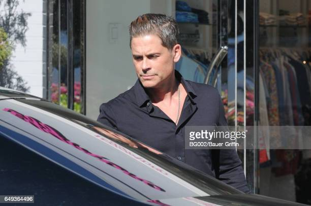 Rob Lowe is seen on March 07 2017 in Los Angeles California