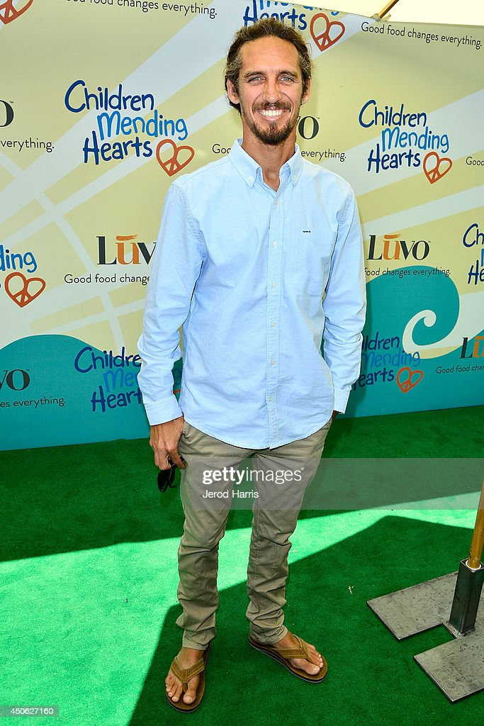 Rob Machado arrives at Children Mending Hearts' 6th Annual Fundraiser 'Empathy Rocks: A Spring Into Summer Bash' on June 14, 2014 in Beverly Hills, California.