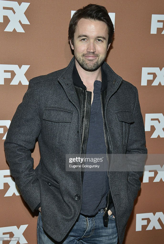 Rob Mcelhenney attends the 2013 FX Upfront Bowling Event at Luxe at Lucky Strike Lanes on March 28, 2013 in New York City.