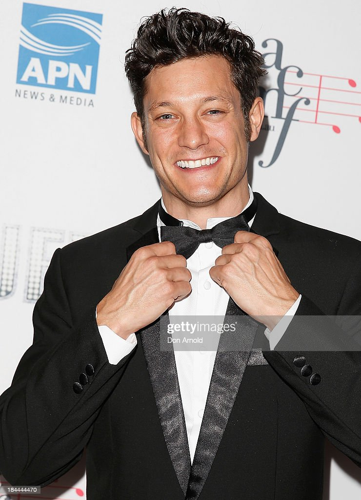Rob Mills poses at the 4th Annual Duets Gala concert at the Capitol Theatre on October 14, 2013 in Sydney, Australia.