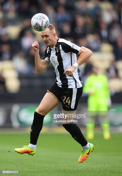 Rob Milsom of Notts County in action during the Sky Bet League Two match between Notts County and Forest Green Rovers at Meadow Lane on October 7...