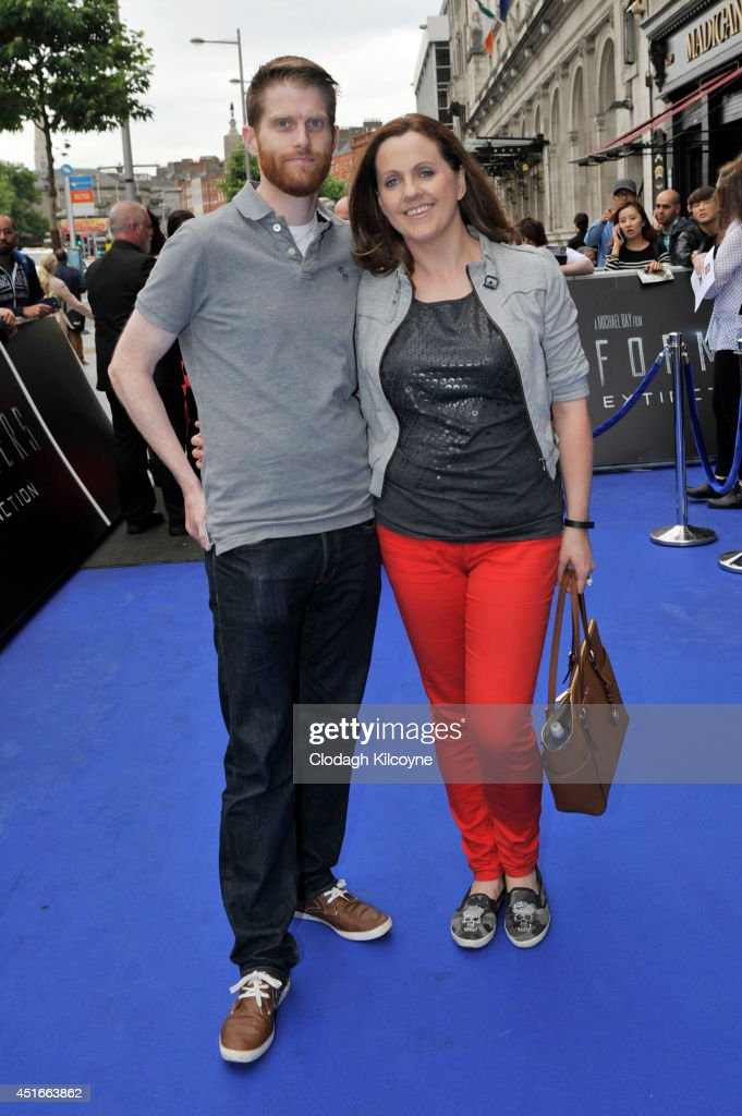 Rob Morgan and Ruth Scott attends the Irish Premiere of 'Transformers 4: Age of Extinction' at Savoy Cinema on July 3, 2014 in Dublin, Ireland.