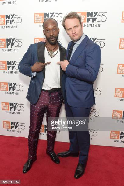 Rob Morgon and Jason Clarke attends the 55th New York Film Festival screening of 'Mudbound' at Alice Tully Hall in New York on October 12 2017