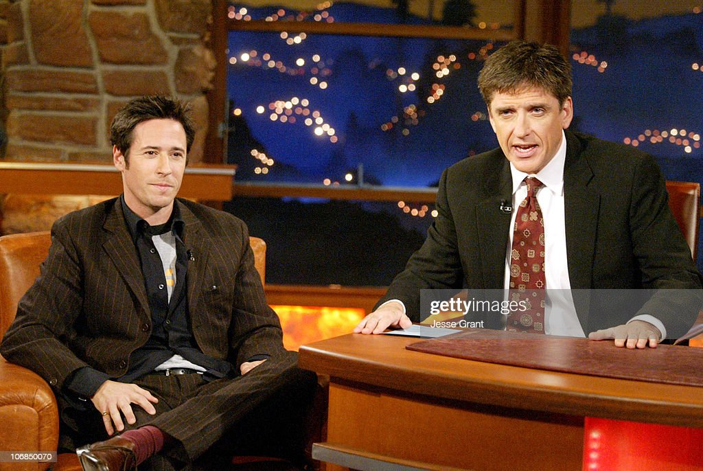 Rob Morrow and Craig Ferguson during Regis Philbin and Rob Morrow Visit 'The Late Late Show with Craig Ferguson' January 18 2005 at CBS Television...