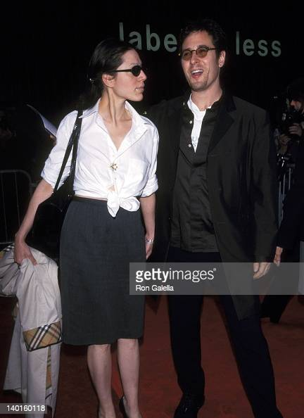 Rob Morrow and guest at the Premiere of 'Notting Hill' Ziegfeld Theater New York City