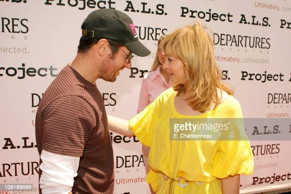 Rob Morrow and Sharon Lawrence during The 6th Annual Project ALS Los Angeles Benefit 'New York City Block Party' At Paramount Pictures Sponsored by...
