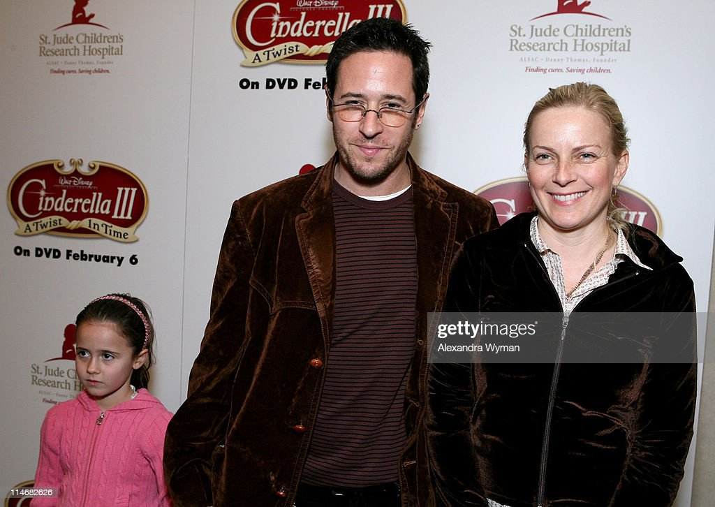 Rob Morrow Debbon Ayer and daughter during 'Cinderella III A Twist in Time' DVD Release Benefiting St Jude Children's Research Hospital at Wyndham...